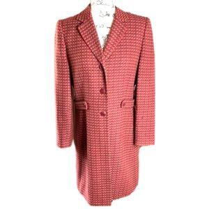 Vintage Le Suit Colorful Long Line Jacket